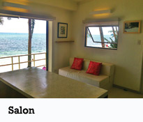 Bacchus Villa/Appartement - Salon
