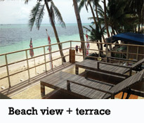 Bacchus apartment - Beach view and sundeck