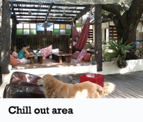 Lazy Dog bed&breakfast - Chill out area